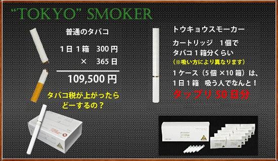 TOKYO SMOKER(トウキョウスモーカー)本体セット
